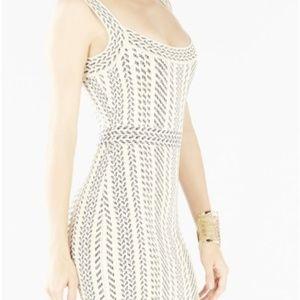 BCBG-Aleena-French-Cream-Body-Con-Dress-XXS  BCBG